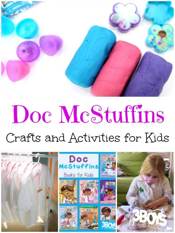 Doc McStuffins Crafts and Activities for Kids
