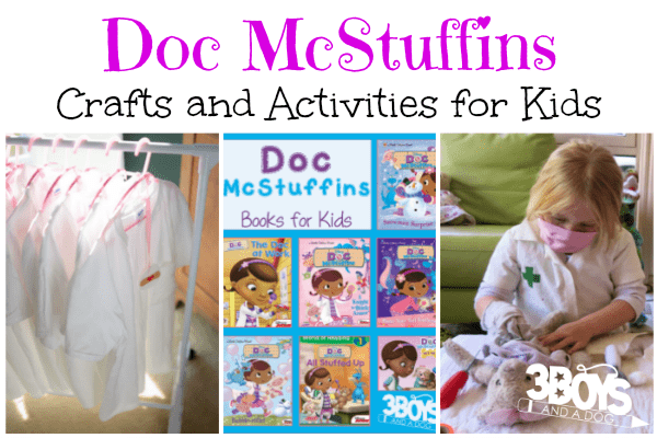 Doc McStuffins Crafts and Activities