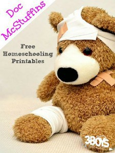 Doc McStuffins Free Homeschooling Printables