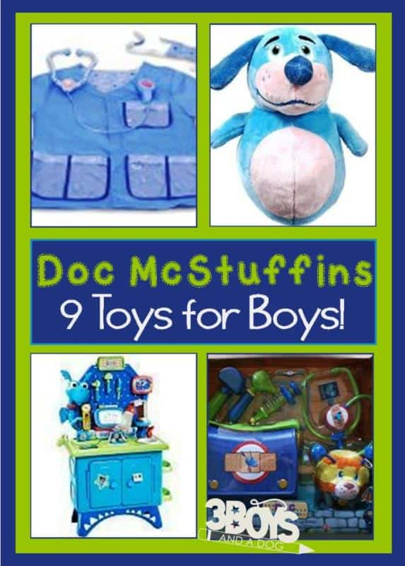 Doc McStuffins Toys for Boys