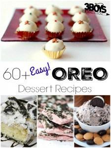 Easy Oreo Dessert Recipes