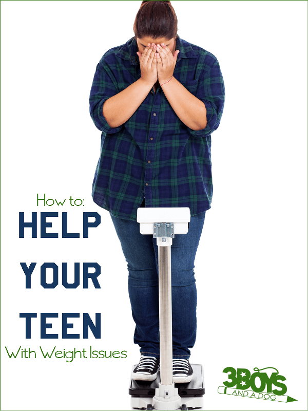 How to Help Your Teen with Weight Issues