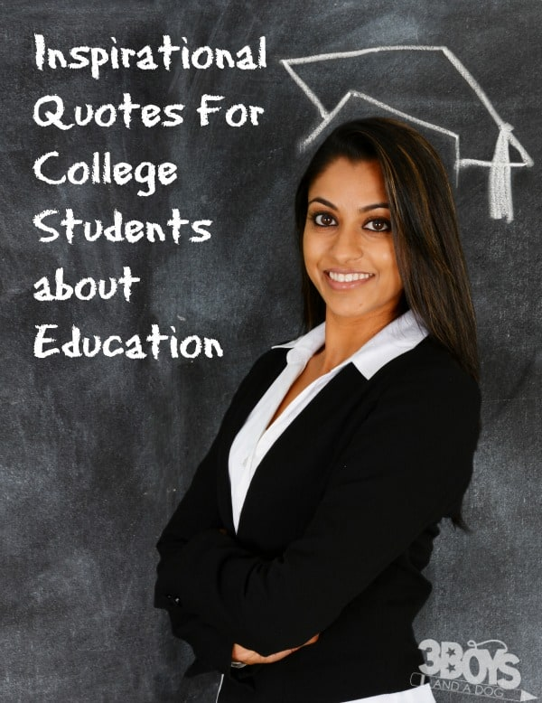 Education quotes for college students