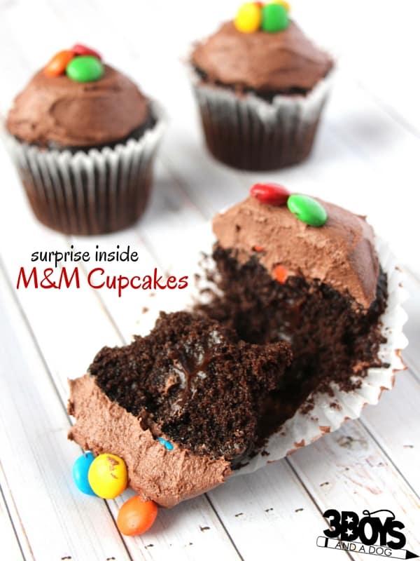 M&M Cupcakes (1)