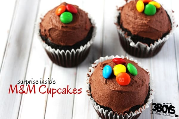 M&M Cupcakes (3)