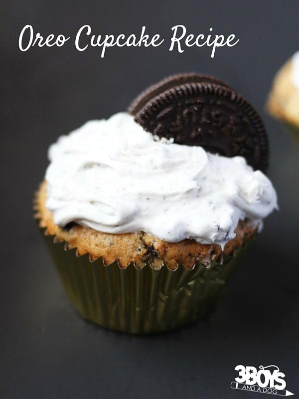 Oreo Cupcake Recipe