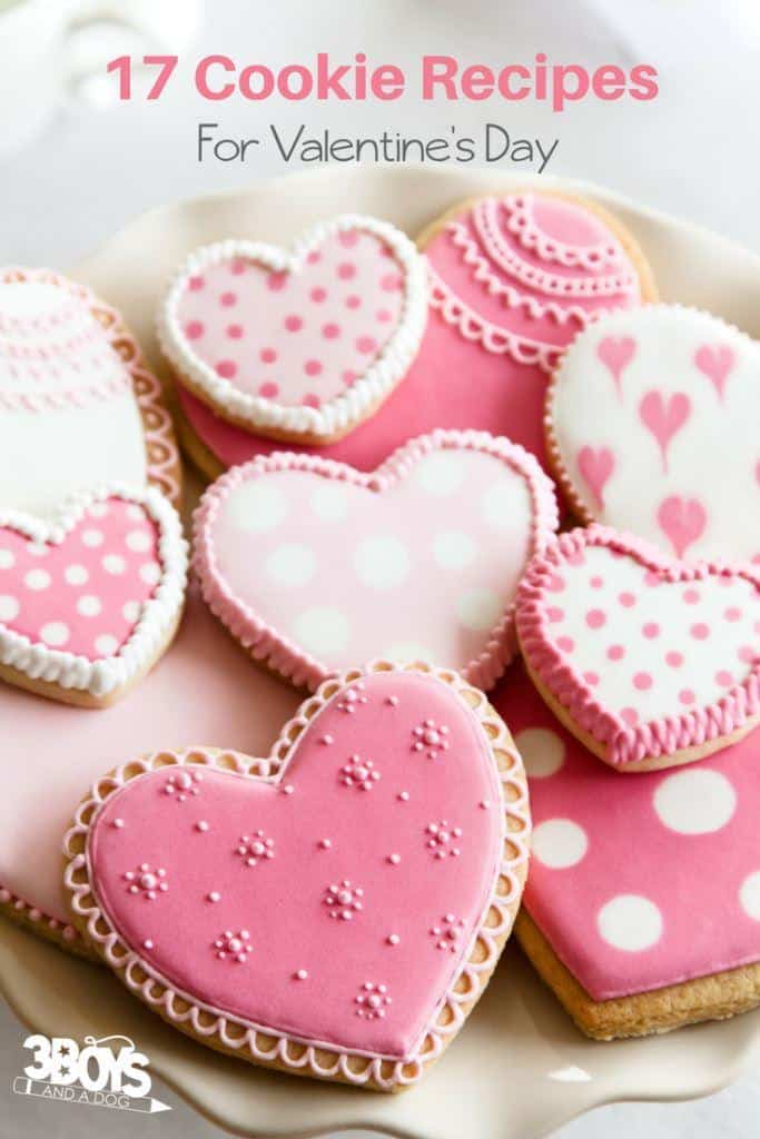 Over 15 Valentine's Day cookie recipes