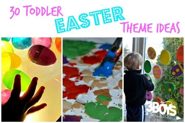 Toddler Easter Theme Ideas