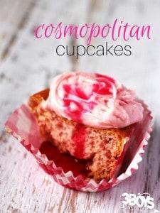 Cosmopolitan Cupcakes