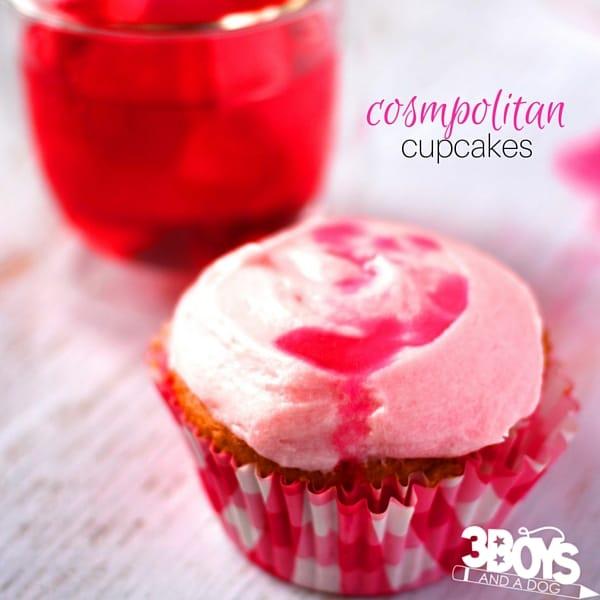 How to make cosmopolitan cupcakes