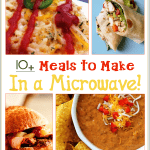 Living in a dorm or apartment, these Meals to Cook in a Microwave will help you!