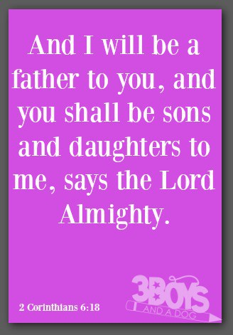 Bible Quotes for Family