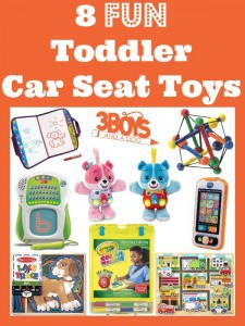 8 Fun Toddler Car Seat Toys