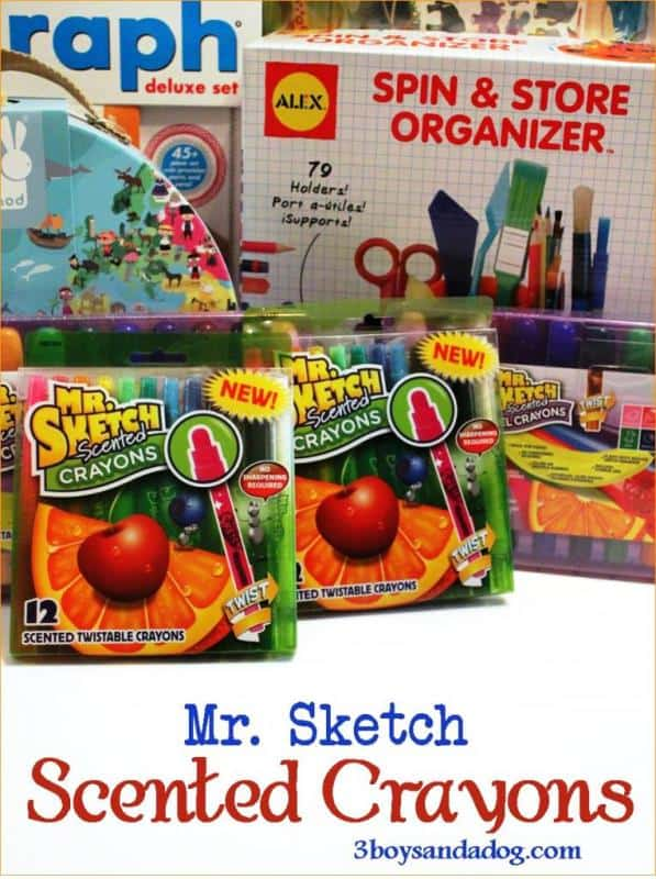 About Mr Sketch Scented Crayons