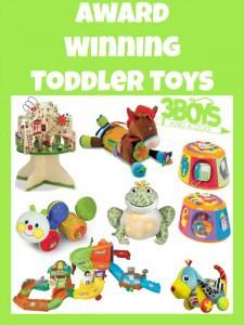 Award Winning Toddler Toys