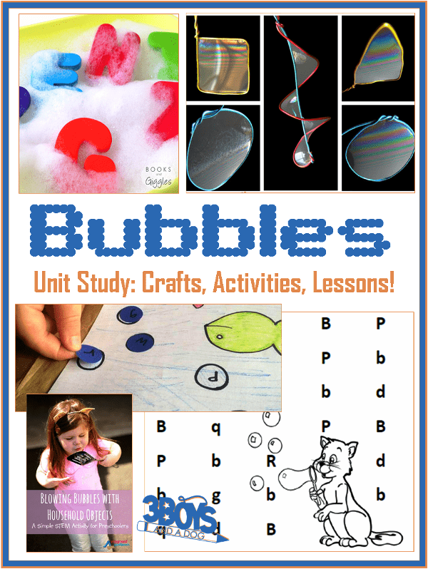 Bubbles Themed Unit Study