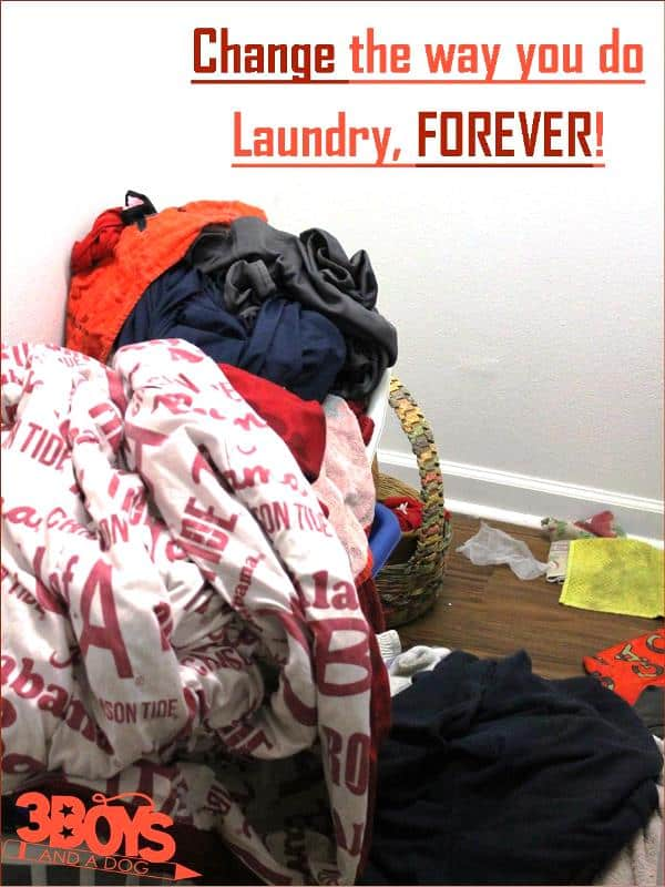 Change the way you do laundry