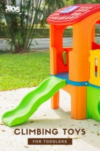 outside toddler toys to climb on
