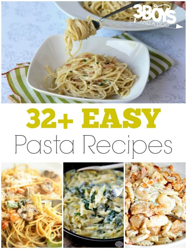 Easy Pasta Recipes