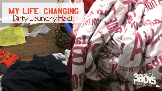 My Life Changing Laundry Hack – 3 Boys and a Dog