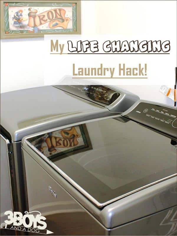 My Life Changing Laundry Hck - Change the way you do laundry forever!