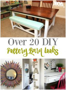 Over 20 DIY Pottery Barn Looks