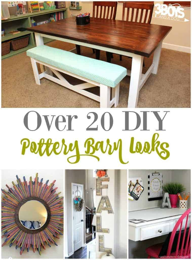 Over 20 DIY Pottery Barn Looks