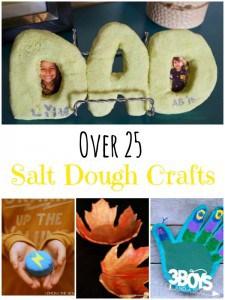 Over 25 Salt Dough Crafts!