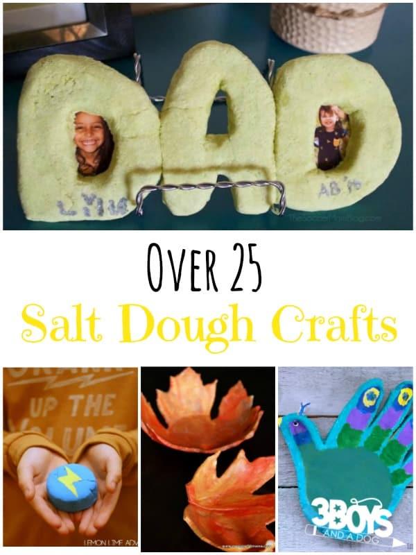 Over 25 Salt Dough Crafts