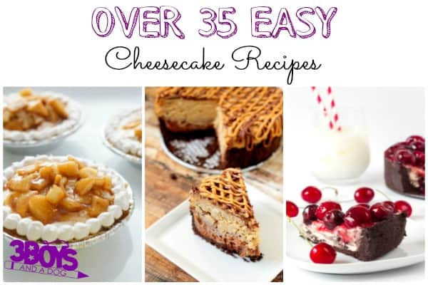 Over 35 Easy Cheesecake Recipes
