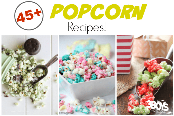 Over 45 Gourmet Popcorn Recipes