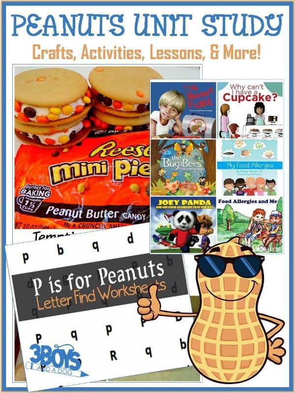 Peanut Unit Study for Homeschooling