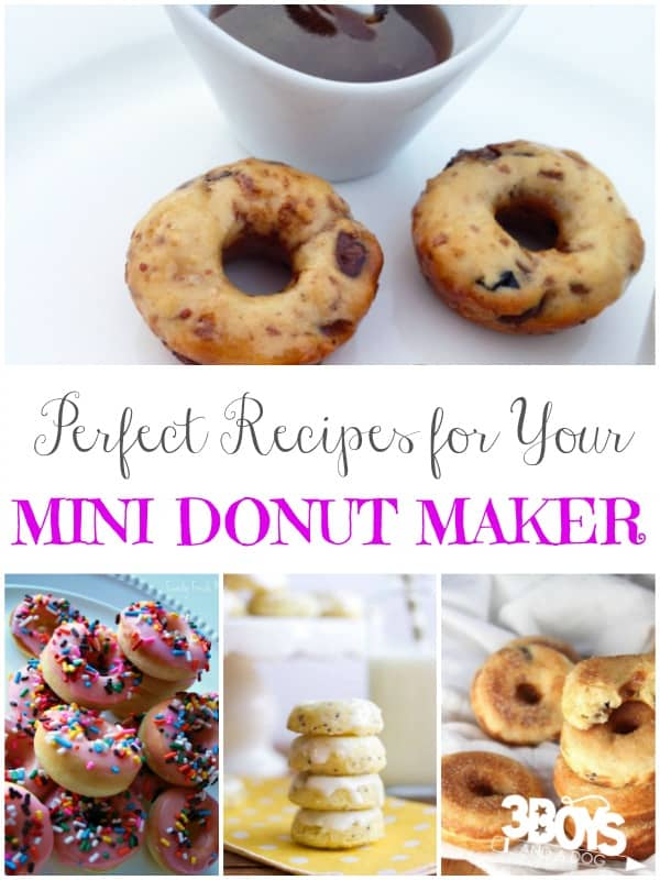 Perfect Mini Donut Maker Recipes