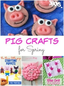 Pig Crafts for Spring