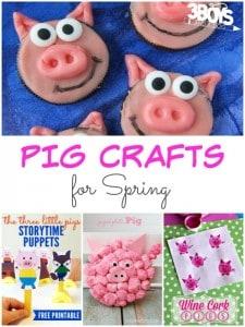 17 Pig Crafts for Spring