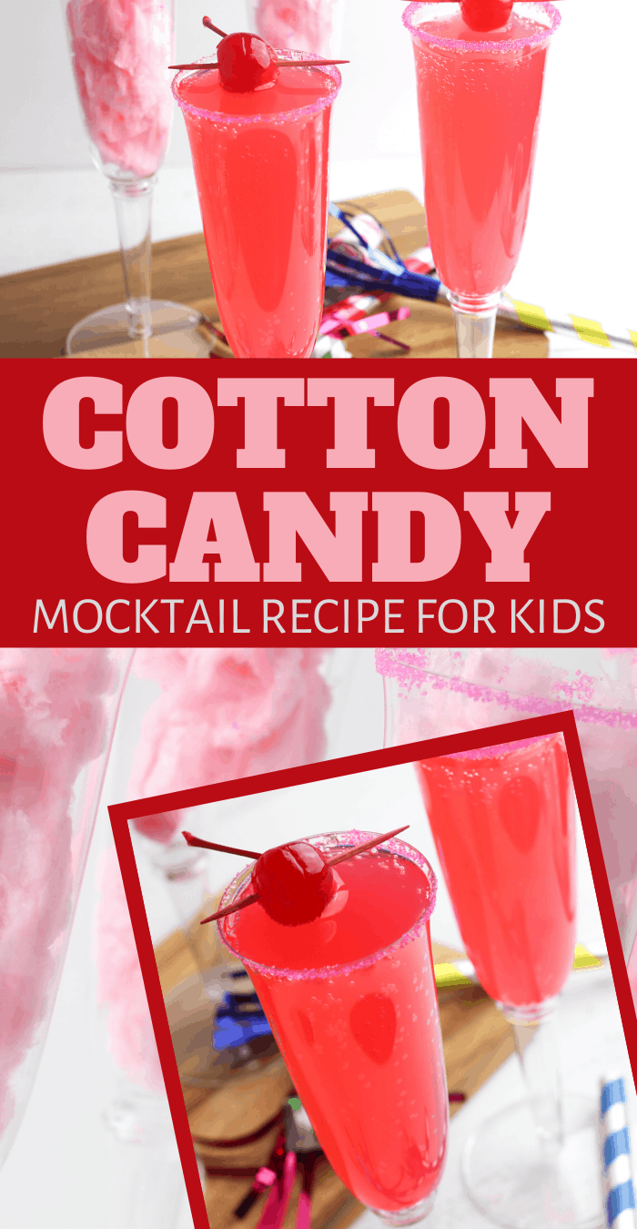 non alcoholic cotton candy drink for teenage parties