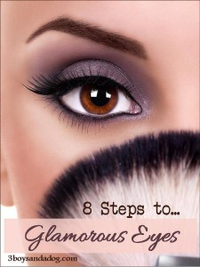 8 Steps to Glamorous Evening Eyes