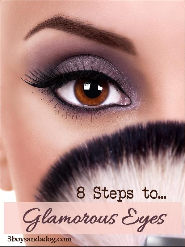 8 Simple Steps to Glamorous Eyes