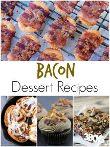 Bacon Dessert Recipes
