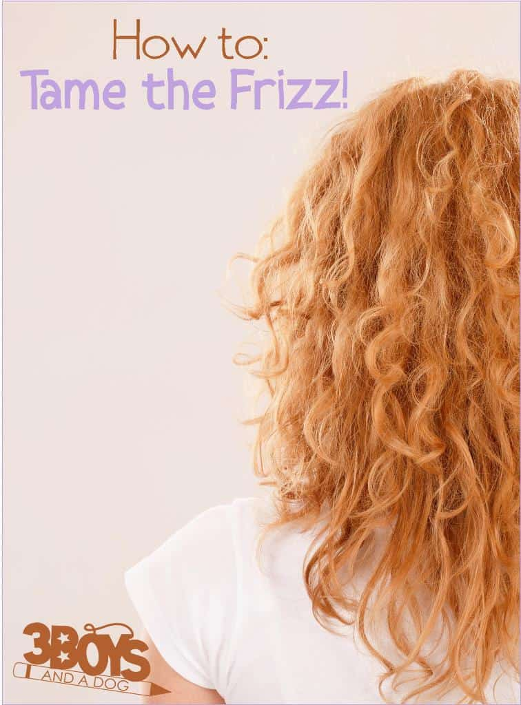 How to tame the frizz