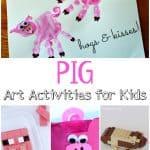 Pig Art Activities