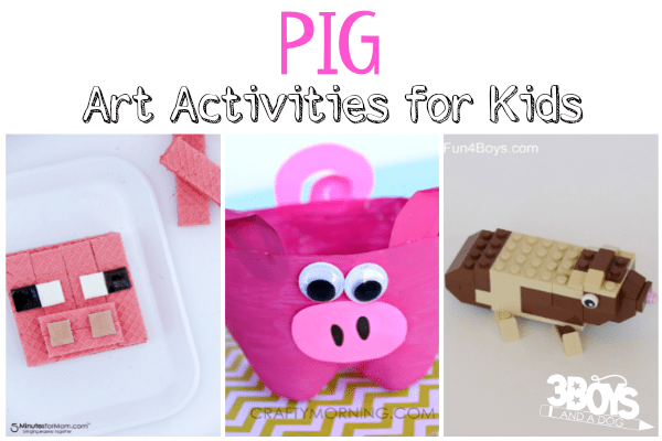 Pig Art Activities for Kids