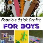 Popsicle Stick Crafts for Boys