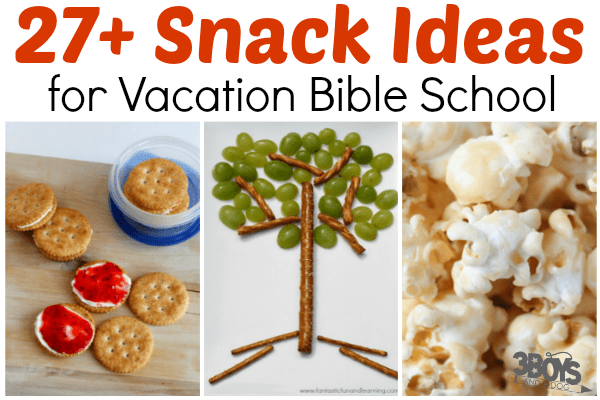 Simple VBS Snack Ideas