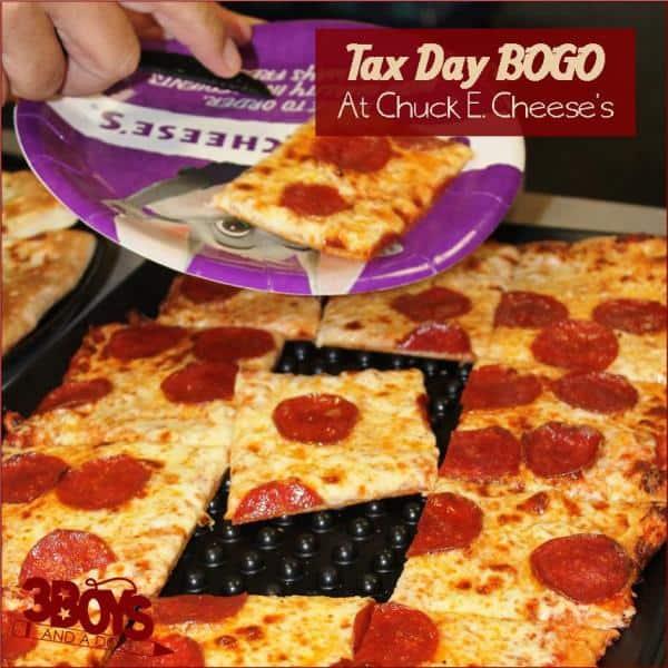 Tax Day BOGO