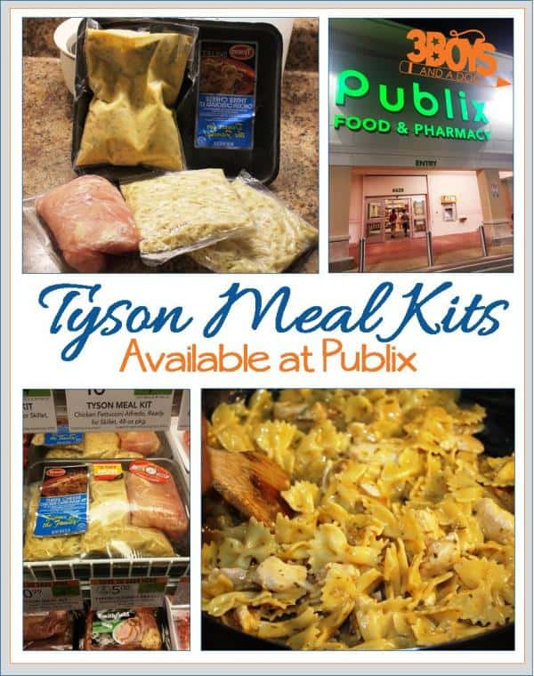 Tyson Meal Kits Available at Publix
