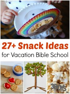 Vacation Bible School Snack Ideas