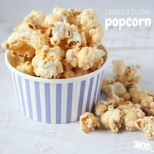 How to make peanut butter popcorn that tastes gourmet