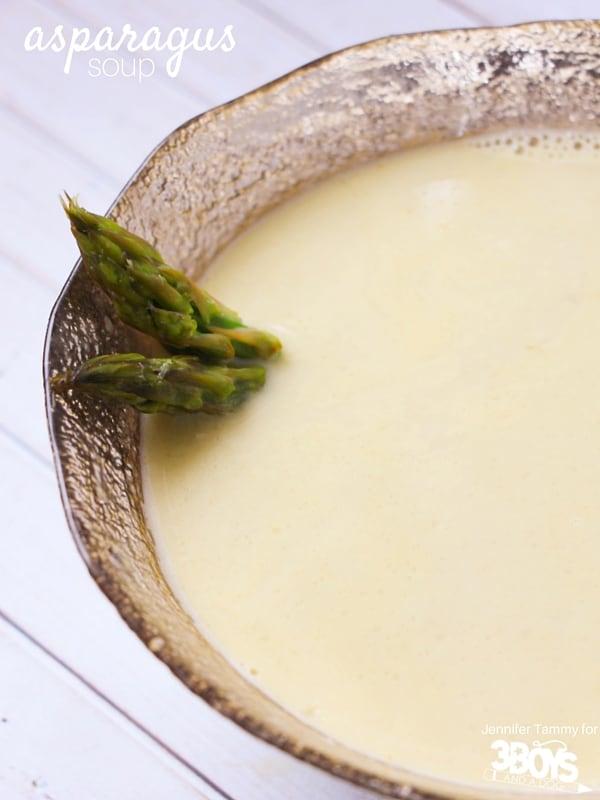 Asparagus soup recipe