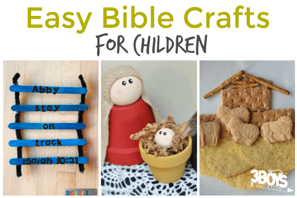 Bible Crafts for Children